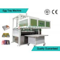 Best Recycled Paper Pulp Molding Machine Semi - Automatic Egg Tray Line With Dryer wholesale