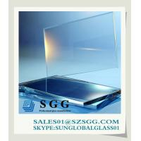 China High quality non glare glass 1.5-19mm on sale