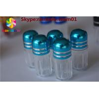 Best SGS Small Plastic Pill Bottles Rhino Clear Bullet Sex Pill Packaging Bottle wholesale