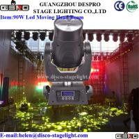 China 90W LED Moving Head Beam Light Professional LED Stage Lighting on sale