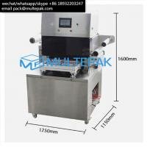 Best MULTEPAK Semi-Auto Vacuum Skin Packaging   Machine for seafood fish meat beef salmon wholesale