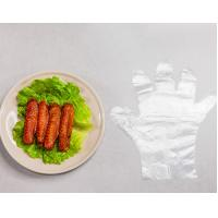 Best Household Food Safe Polyethylene Disposable Gloves Embossed Surface wholesale
