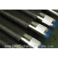 Buy cheap High Frequency Resistance Helical Steel Welded Fin Tubes SA213 T11 Alloy Steel + SS409 product