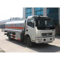 Best Dongfeng 4*2 6000 liters oil tank fuel tanker trucks for sale wholesale