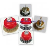 Best cup Brushes Crimped with Shank wholesale