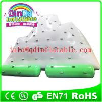 Best Qin Da inflatable water sport games small ice tower inflatable water mountain wholesale