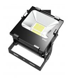 Best Elegant Fins Radiator Outdoor High Powered Waterproof LED Flood Lights 100W wholesale