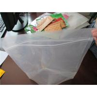 China Plastic Clear Stand Up Zipper Pouch Bags General Purpose Oxygen Resistance on sale