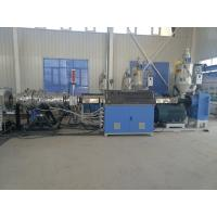 Best Water Drainage Pipe Extrusion Line , Single Screw PE Pipe Making Machine wholesale