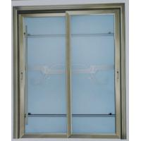 Best Champagne, grey powder coated aluminum lift and slide doors wiht patterned glass wholesale
