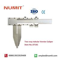 Best Large 0-2500mm Long Jaw Vernier Caliper With Steel Sliding Pin Handles wholesale