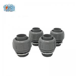 Nylon Straight PVC Flexible Liquid Tight Conduit Fittings 3/8  2