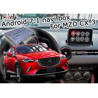 Best Mazda CX-3 Navigation video interface Android 7.1 Mazda knob control google waze youtube wholesale