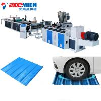 China Durable Corrugated Roof Sheet Making Machine For PVC Corrugated Wave Colored Roof Tile on sale