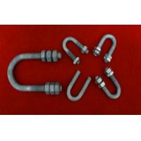 Best Hot Dip Galvanized Bolts And Nuts , Stainless Steel U Bolt / Stud / Screw wholesale