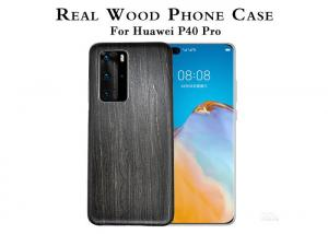 China Shockproof Engraved Wooden Phone Case For Huawei P40 Pro on sale