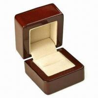 Best Wooden Jewelry Box, Measures 85x98x92mm wholesale