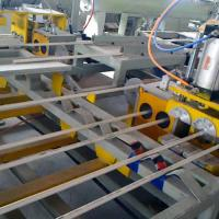 China PVC Double Outlet Pipe Extrusion Line Plastic PVC Pipe Bending Machine on sale