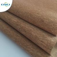 Best Women Shoes Cork Leather Fabric Knitted Fabric Backing Customized Color wholesale