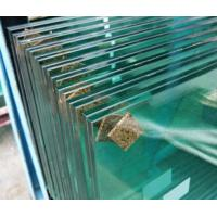 Sound Control Stained Glass Window Laminate , Laminated Glass French Doors