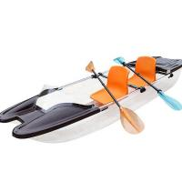 Best 2 Person Pedal Clear Plastic Kayak 100 % Virgin Polycarbonate Sheet Custom Logo wholesale