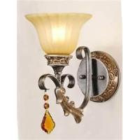 Best Hand painting 240V european style outdoor wall mount / wall lantern lamp with Clear Glass wholesale