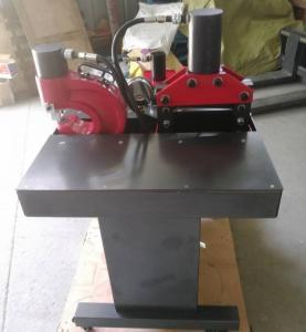 China 70Mpa Hydraulic Bus Bar Machine Punching Cutting Bending Multi Function on sale
