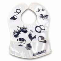 Best Lovely Baby Bib, ODM Orders are Welcome, Made of Soft Plastic (PE) wholesale