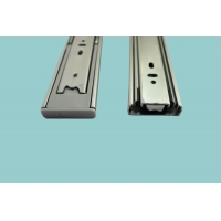 China 51mm Kitchen Cabinet Full Extension Ball Bearing Drawer Slides Channel on sale
