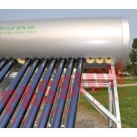 China Heat Pipe Solar Energy Water Heater , Integrated Solar Water Heater 300 Liter on sale