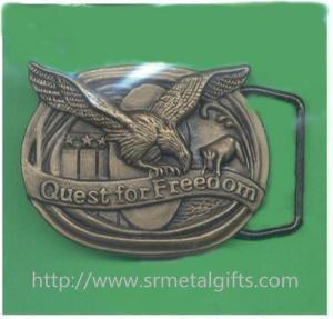 Best Vintage retro metal antique brass American eagle emblem men