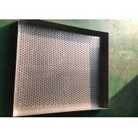 Best Ultra Fine Stainless Steel Drying Tray Perforated Metal Mesh For Baking wholesale
