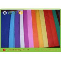 Best 50 X 75 CM 21 GSM Custom Tissue Paper With Logo , Plain /  Solid Colorful Wrapping Paper wholesale