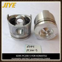 Best engine piston for komatsu s6D95 wholesale