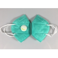 Best Factory Stock Kn95 Face Mascarilla 5 Ply Green Dust Mask With Valve wholesale