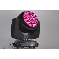 China best price high quality 2 years warranty zoom rgbw 19*15w 4in1 bee eye led moving head light with CE ROHS on sale