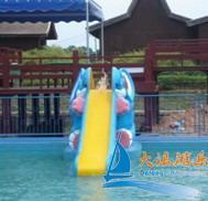 Best Fiberglass Elephant slide Aqua play Aquasplash Water Park Equipment For Children wholesale