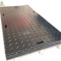 Best temporary black construction hdpe material ground protection mats wholesale