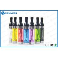 China Blue 2.4ml T2 E Cigarette Vaporizer Reviews , 3.0 - 4.2V 500-600 Puffs on sale