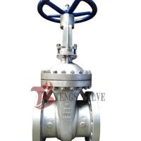 Best Cast Stainless Steel Gate Valve A351 CF8 SS304 300LB With Bolted Bonnet Design wholesale