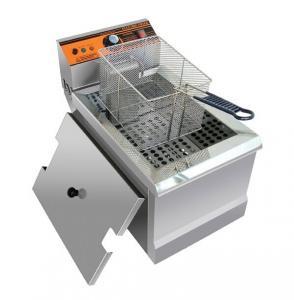 Best 2.5KW Counter Top Commercial Electric Deep Fryer For Hotels / Restaurants wholesale