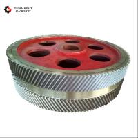 China Gear Transmission Parts Large Steel Casting And Hobbing Metal Herringbone Gear Wheel on sale