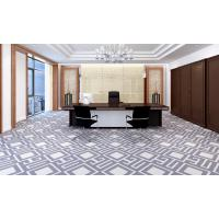 China 100% Nylon printed carpet for office striped wall to wall carpet on sale