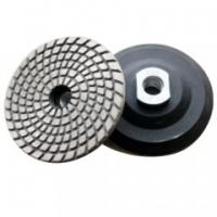 Best Metal Bond Flexible Diamond Polishing Pads , Granite Polishing Pads For Hard Materials wholesale