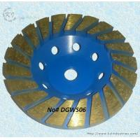 Best Thickened Turbo Diamond Cup Grinding Wheel for Concrete - DGWS06 wholesale