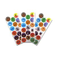 China Free Design CMYK Kids Label Stickers Sheet Packing  ,Personalized Kids Label Stickers Printing on sale