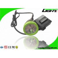 Best 3.7W High Power LED Coal Mining Lights 50000lux 13hrs Lighting Time Head Lamps wholesale