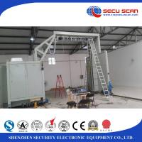China Automatic Baggage Screening Equipment / Mobile Container Scanner Gantry on sale