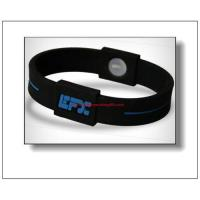 China Power sport silicone bracelets on sale