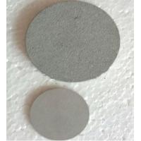 China 1-100 Microns Porosity Sintered Metal Disc in stock fitow on sale